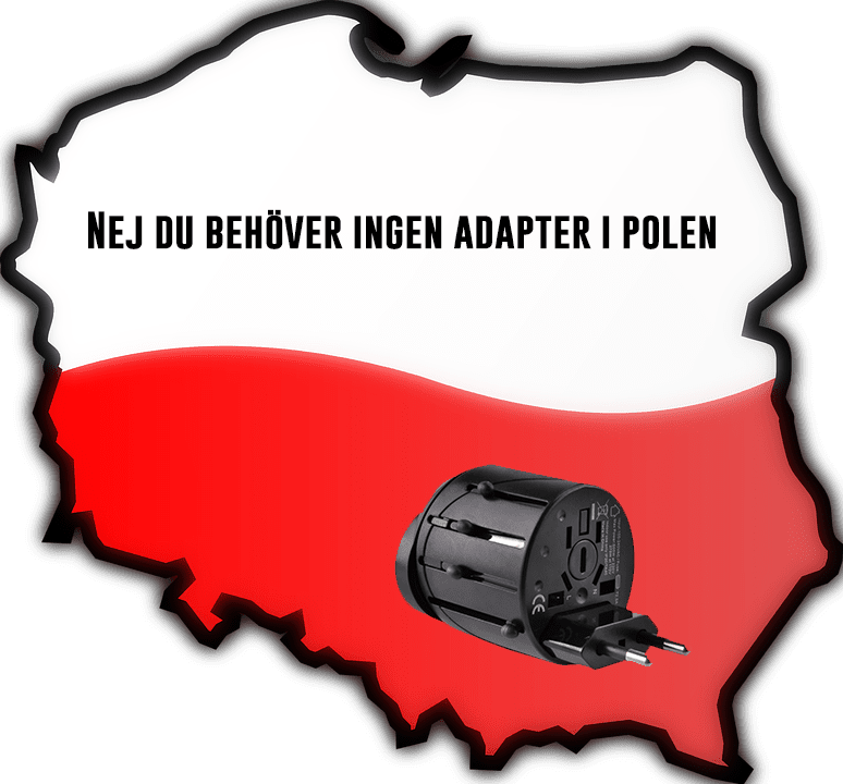 EU adapter i Polen