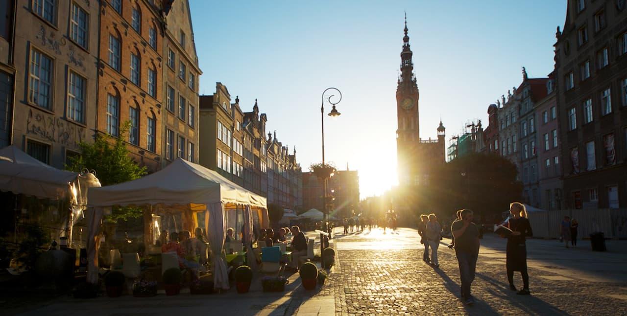 Resa till Gdansk i Polen